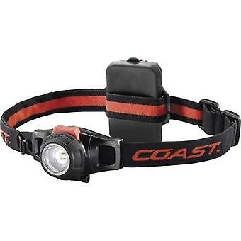 LED Headlamp Coast HL7 battery-powered 125 g Black, Red 140116