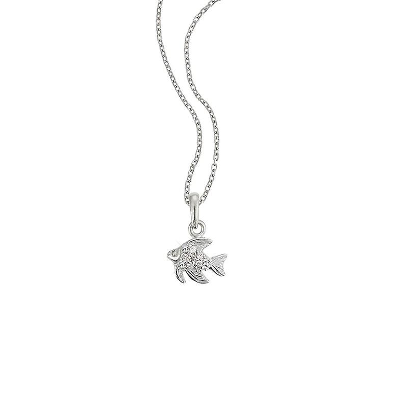 Scout Children necklace chain Silberfisch Glitter Girls 261085200