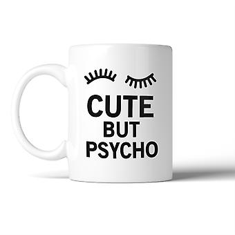 Cute But Psycho Mug Ceramic Coffee Mugs Gift For Christmas Birthday