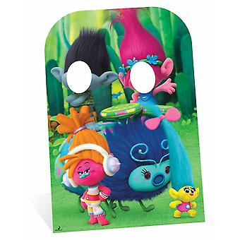 Trolls Poppy and Branch Child Size Cardboard Cutout Stand-In