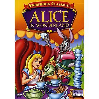 Alice i Eventyrland [DVD] USA importerer