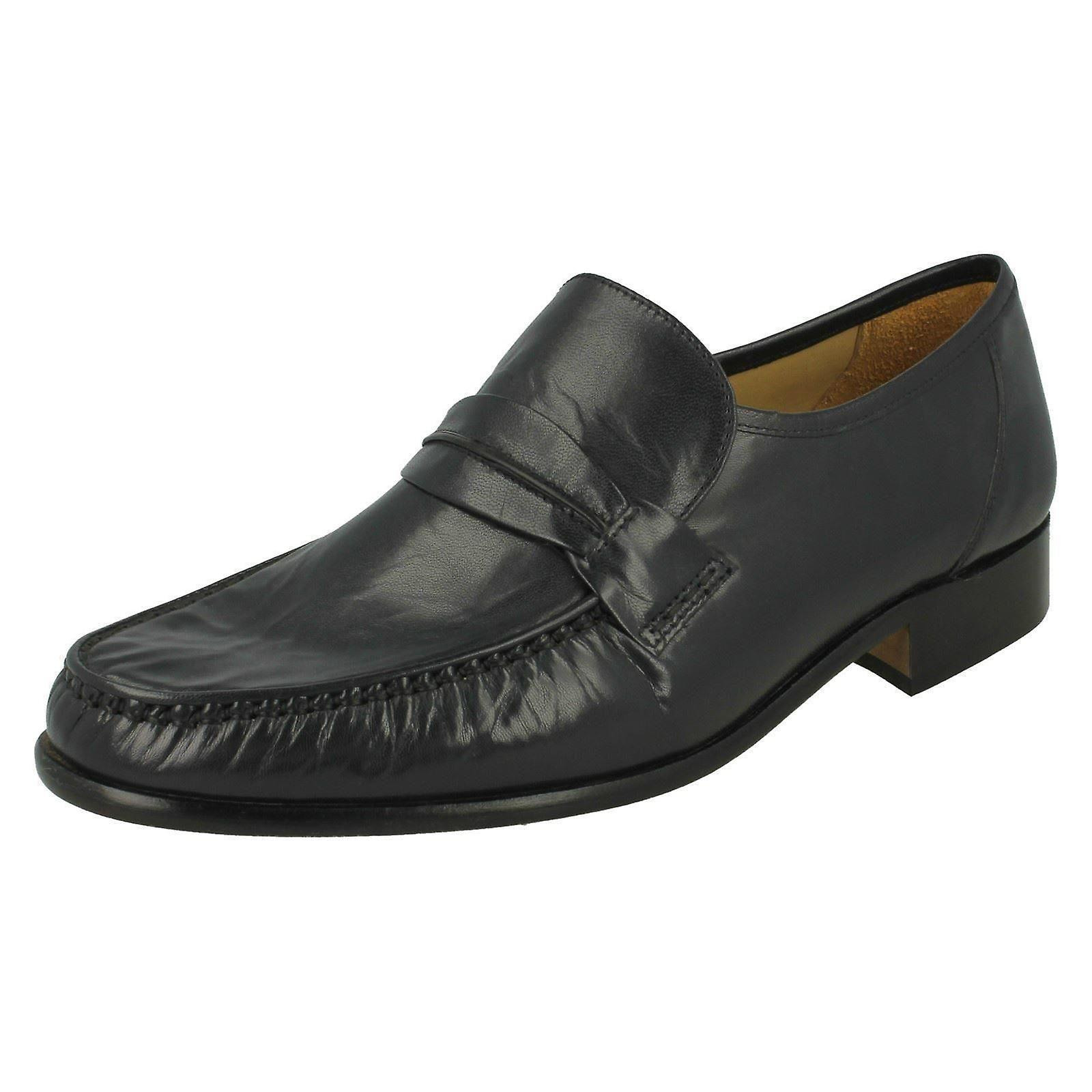 Mens Thomas stumpf formale Slip-on Schuhe Boston