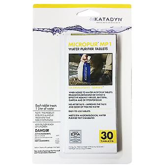Katadyn Micropur Water Purification Tablets - 20-Pack