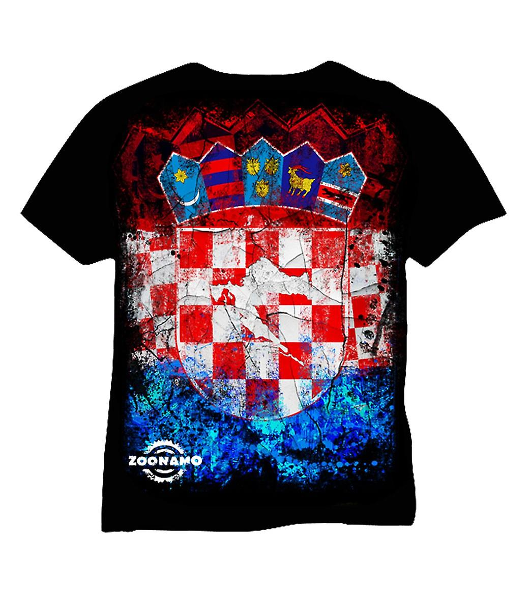Zoonamo T-Shirt Croatia of classic