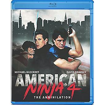 Amerykański Ninja 4: Importuj USA zagłady [Blu-ray]