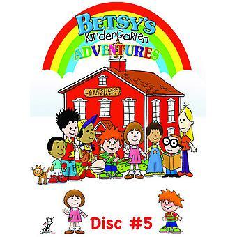 Betsys børnehave eventyr 5 [DVD] USA importerer