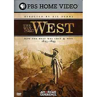 Way West [DVD] USA import