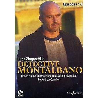 Detektiv Montalbano, episoder 1-3 [DVD] USA importerer