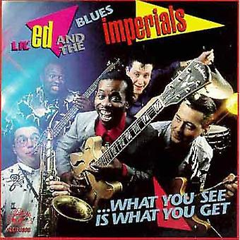 Lil' Ed & Blues Imperials - What You See Is What You Get [CD] USA import