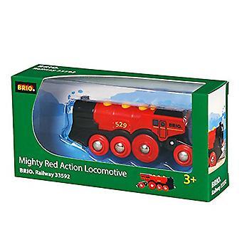 BRIO 33592 Mighty Red de Acción de la locomotora (2013 modelo)