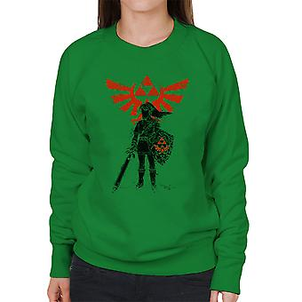 Traditional Hero Of Time Legend Of Zelda Women's Sweatshirt