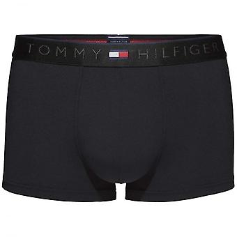 Tommy Hilfiger Heritage Microfiber Low Rise Trunk, Black, X-Large