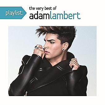Adam Lambert - Playlist: The Very Best of Adam Lambert [CD] USA import