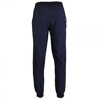 HUGO BOSS Stretch Cotton Drawstring Loungepant, Dark Blue, X-Large