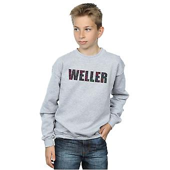 Paul Weller Boys Paisley Logo 2 Sweatshirt