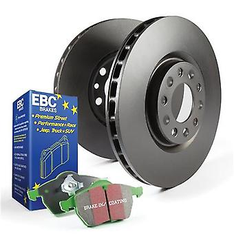 EBC Brake Kit - S11 Greenstuff 2000 and RK Rotors S11KF1352 Fits:FORD  2006 - 2