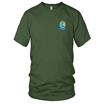 US Navy VF-77 Embroidered Patch - Lobos Ladies T Shirt