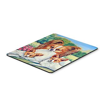 Carolines Treasures  7042MP Papillon Momma's Love Mouse Pad, Hot Pad or Trivet