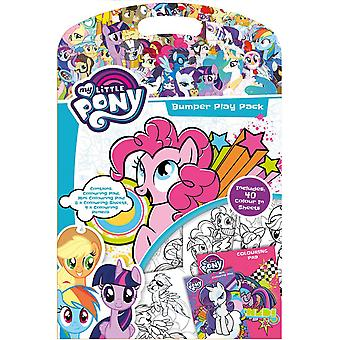 My Little Pony Bumper Play Pack - Colouring Pad , Pencils and Sheets