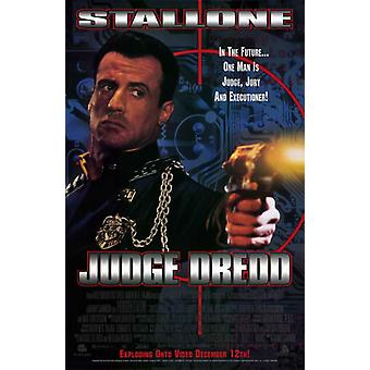 Judge Dredd Movie Poster (11 x 17)