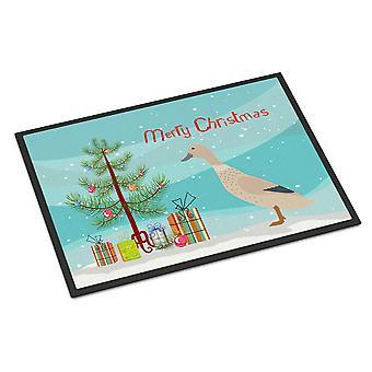West Harlequin Duck Christmas Indoor or Outdoor Mat 24x36