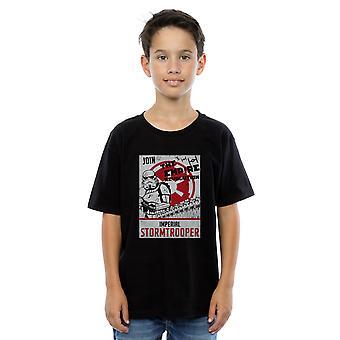 Star Wars Boys The Empire Revolution T-Shirt