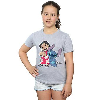 Disney piger Lilo og Stitch klassiske T-Shirt