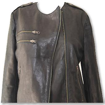 Ellen Womens Leather Jacket