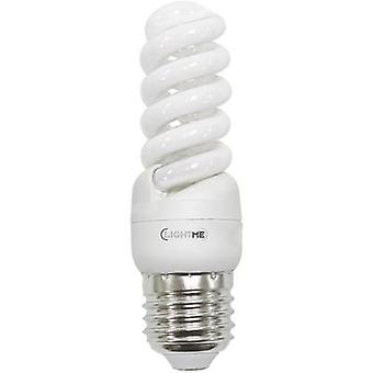 Energy-saving bulb 105 mm LightMe 230 V 11 W EEC: A Spiral shape Content 1 pc(s)