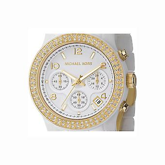 Michael Kors Ladies Watch White Ceramic MK5237