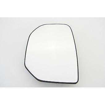 Left Mirror Glass (heated) & Holder for PEUGEOT PARTNER van 2008-2012