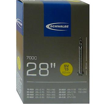 SCHWALBE SV 15 long bicycle tube 27/28″
