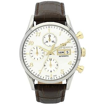 Philip watch mens watch Sunray automatic chronograph R8241908002