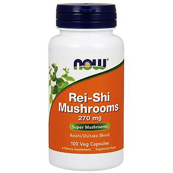 Now Foods Reishi Mushrooms 270 mg 100 vcaps (Vitamins & supplements , Fungis)