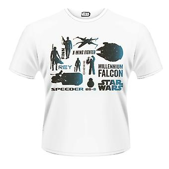 STAR WARS- BLUE HEROES CHARACTER T-Shirt