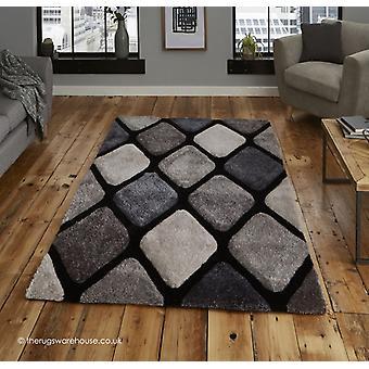 Melio nero grigio tappeto