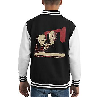Alfred Hitchcock Studio Props 1964 Poster Style Kid's Varsity Jacket