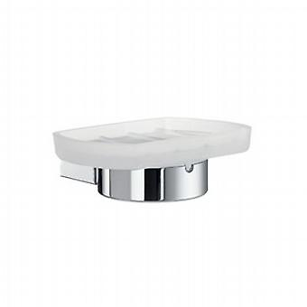 Air Holder With Glass Soap Dish AK342