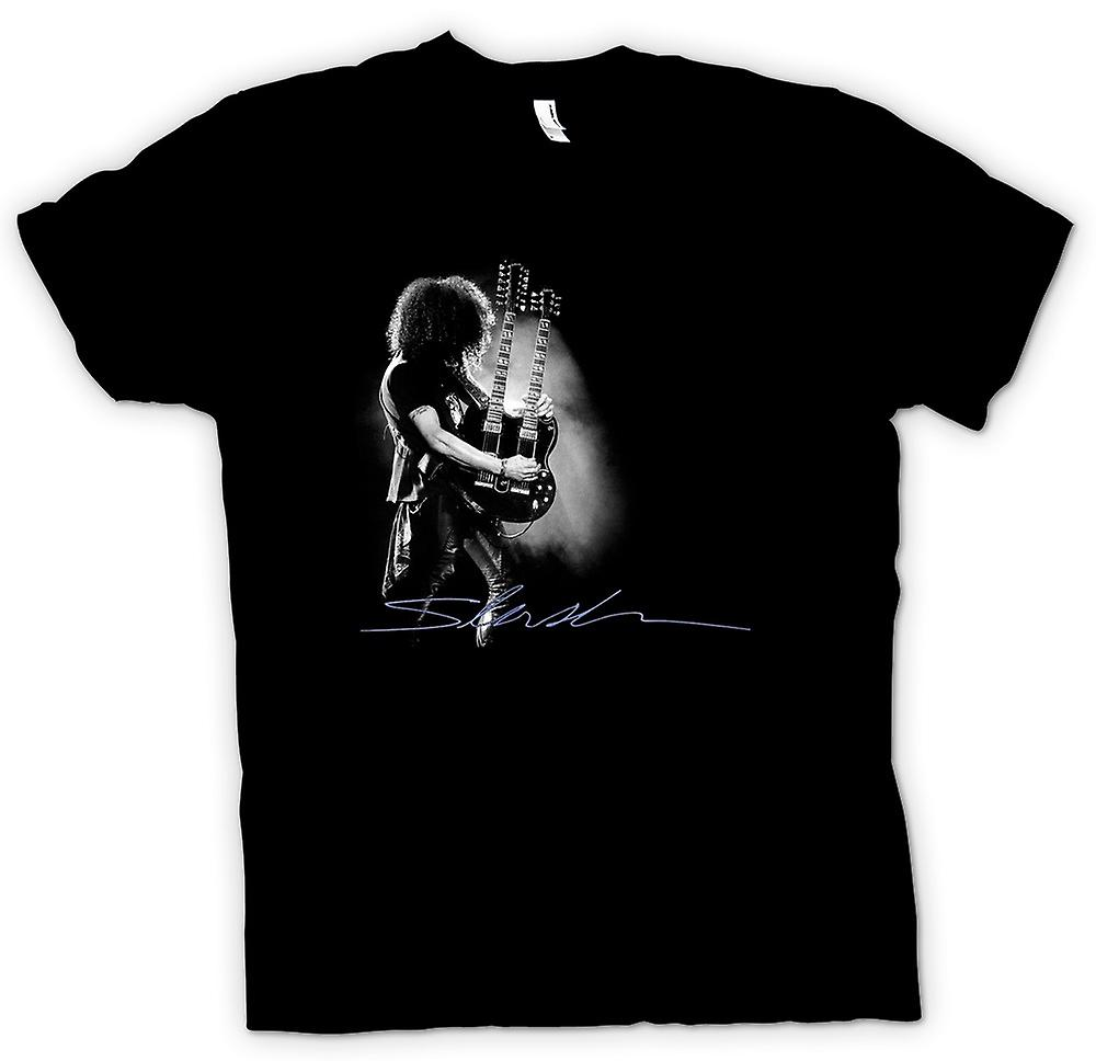 Mujeres camiseta - Slash - guitarra de Gibson de doble