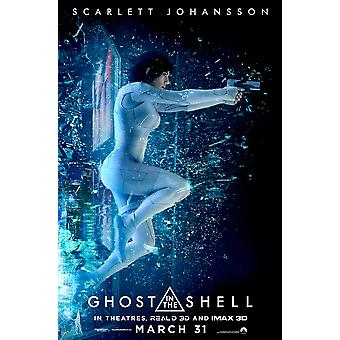 Ghost in the Shell Movie Poster (11 x 17)