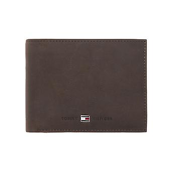 Tommy Hilfiger – Johnson – CC Flap and coin pocket heren portemonnee – Brown
