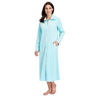 Лагуна Феро 3883036-10011 женщин голубой хлопок Loungewear одеяние Ванна халатик