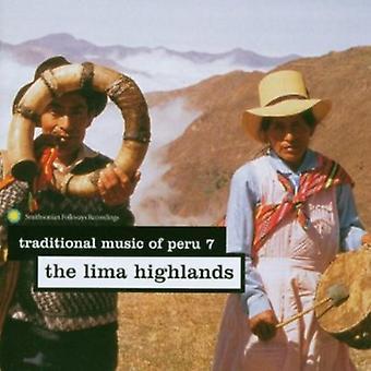 Traditionele muziek van Peru - traditionele muziek van Peru: Vol. 7-Lima hooglanden [CD] USA import