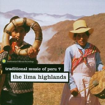 Traditional Music of Peru - Traditional Music of Peru: Vol. 7-Lima Highlands [CD] USA import