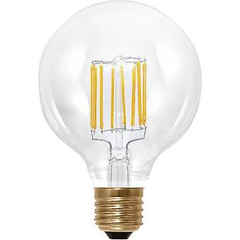 Segula LED E27 Globe 6 W = 35 W Warm white (Ø x L) 95 mm x 130 mm EEC: A+ dimmable, Filament 1 pc(s)