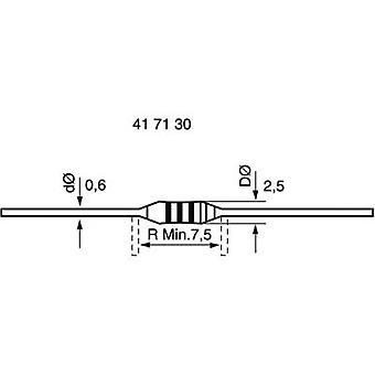 Metal film resistor 0.22 Ω Axial lead 0207 0.6 W 5 % 1 pc(s)