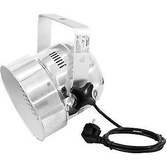 Eurolite LED PAR-56 Kurz LED PAR stage spotlight No. of LEDs: 151 x Silver