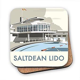 Saltdean Lido Cork Backed Drinks Coaster