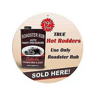 Roadster Rub replika Metal reklame tegn