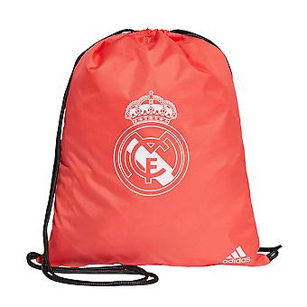2018-2019 real Madrid Adidas Gym Bag (rød)
